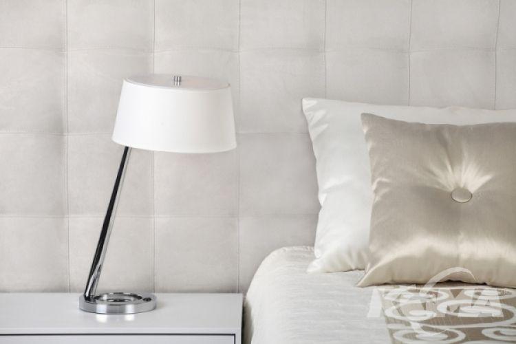 Olsen lampa biurkowa 1x60W E27 h52cm chrom