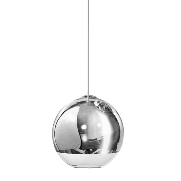 Ball lampa wisząca Silver AZZARDO