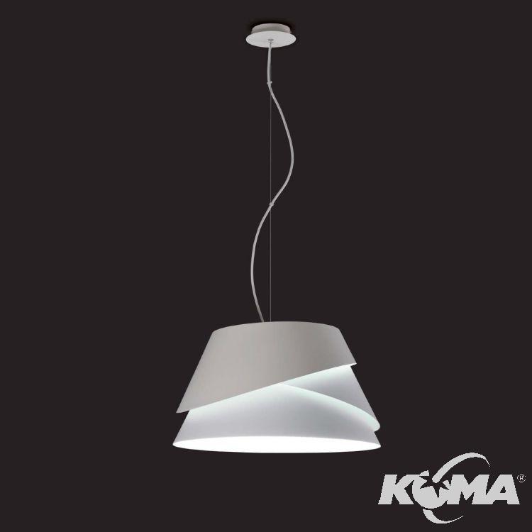 Alboran lampa wisząca 3x40W E27 230V biała