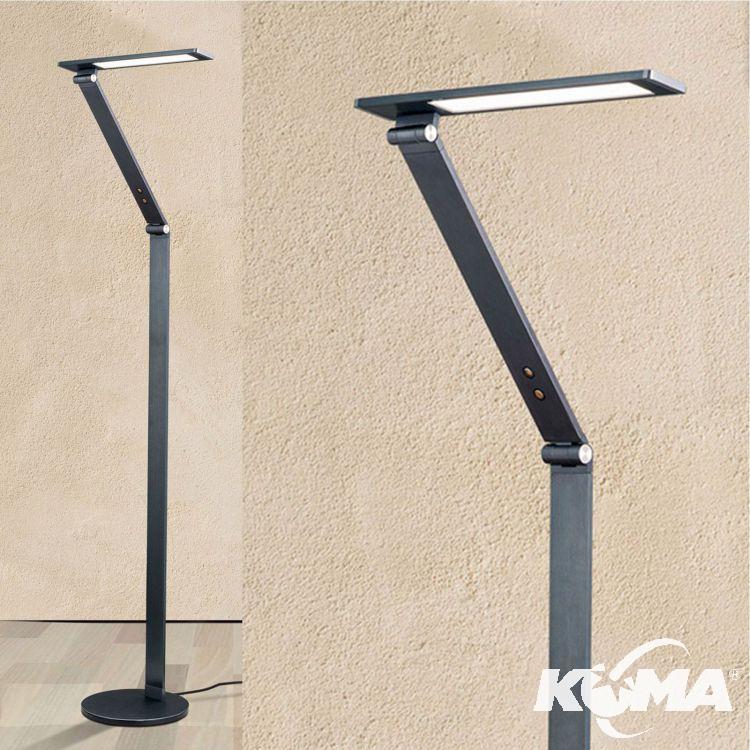 Kelvin lampa podłogowa stojąca 8W LED 3000K 230V antracyt