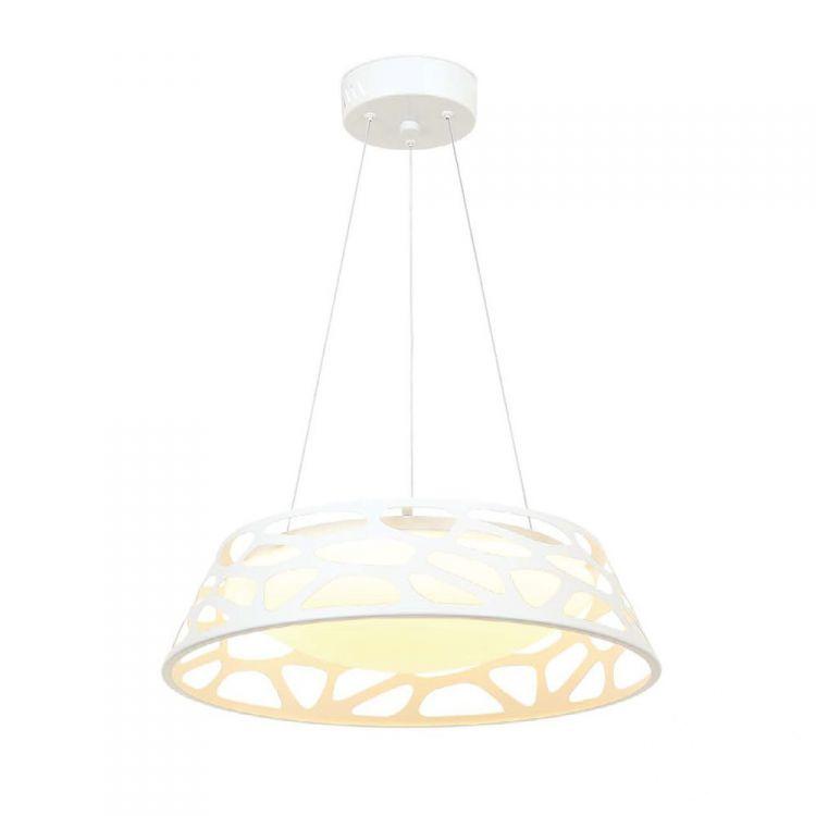 Bianco S lampa wisząca Forina