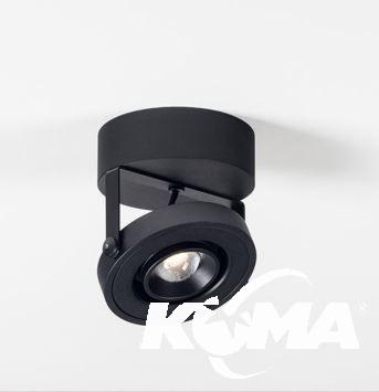 reflektor sufitowy czarny LED D+ CHORS
