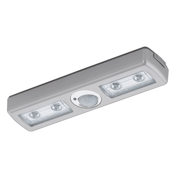 Baliola Lampa ścienna Z Czujką Na Baterie 3xaaa 4 Led