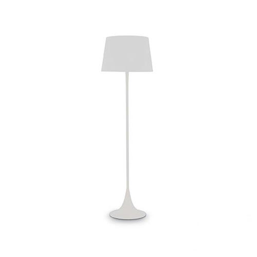 London lampa podłogowa 1x100W E27 230V biała