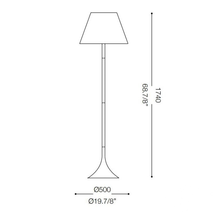 lampa podłogowa London IDEAL LUX