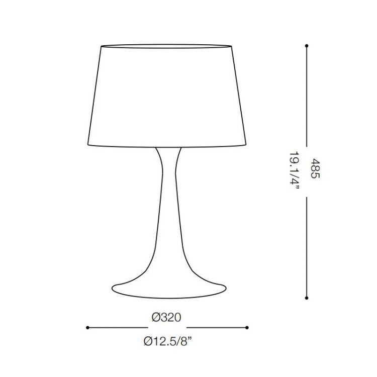 Big lampa stołowa London IDEAL LUX