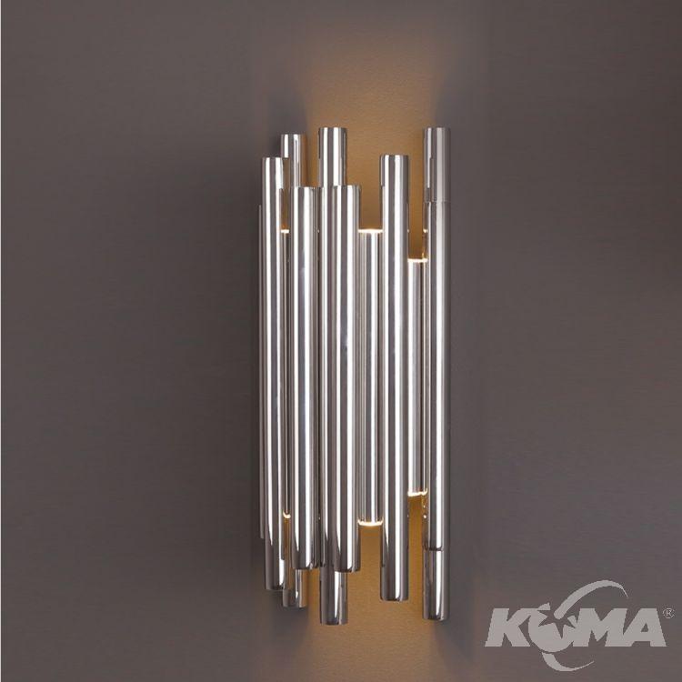 Organic kinkiet 8x1W LED 3000K 230V chrom