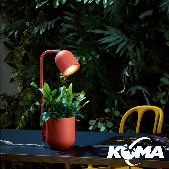 lampa stojąca koralowa Botanica KASPA