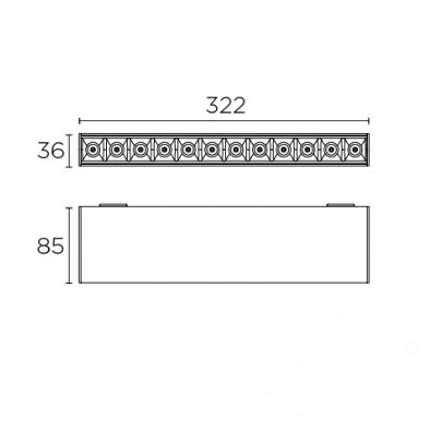 downlighty oprawa sufitowa Bento LEDS C4