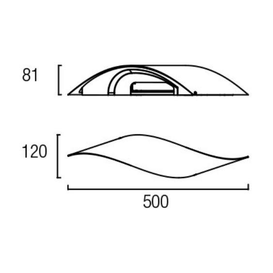 Rizz kinkiet LED 10x1W 230V biały