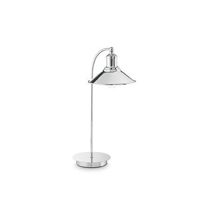 Seaman lampa stołowa 1x60W E27 230V chrom