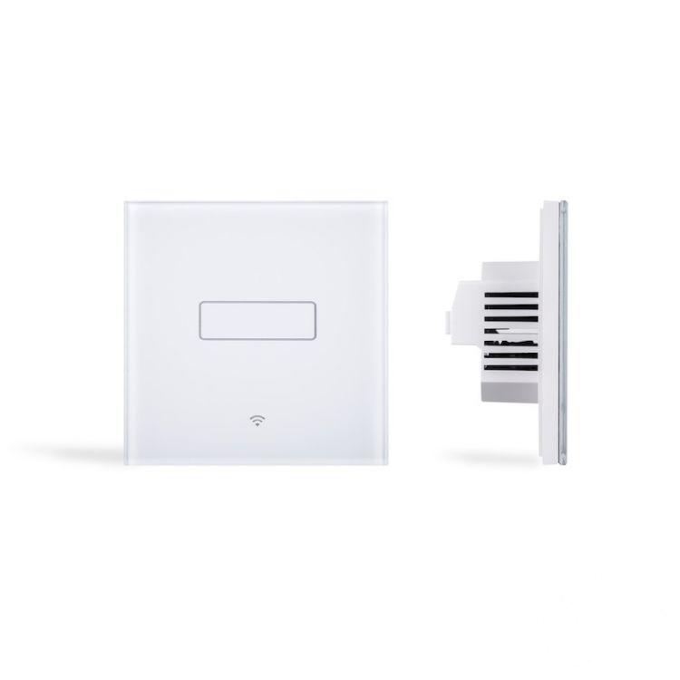 włącznik oświetlenia pojedynczy biały (zdalnie sterowany) Dotykowy