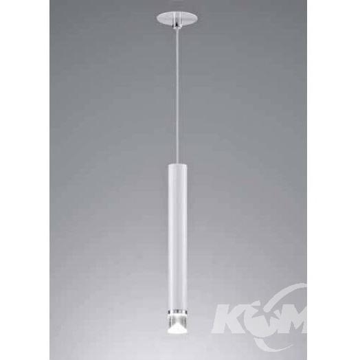 Tubell lampa wisząca 6W LED 3000K 230V biała