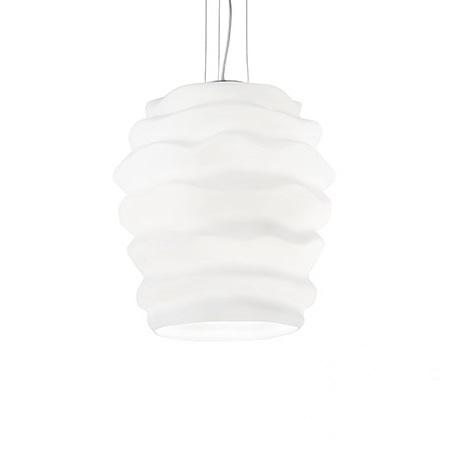 Karma Big lampa wisząca 1x60W E27 230V biała
