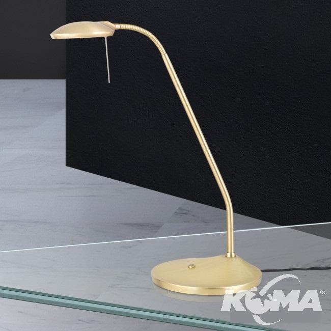 lampka stołowa mosiądz mat Cobra ORION
