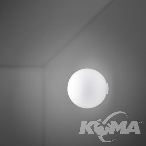 lampa ścienna kinkiet/plafon d20cm IP44 Lumi-sfera FABBIAN