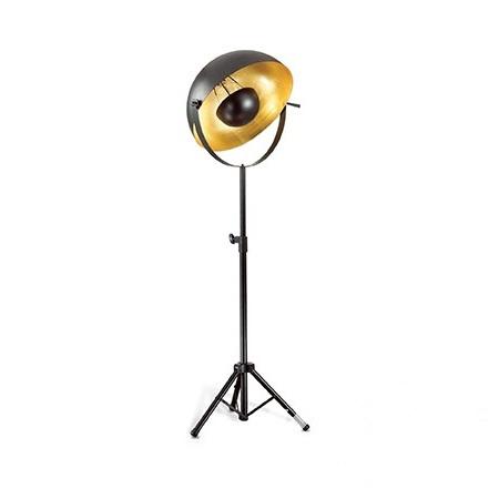 Stage Big lampa podłogowa 1x60W E27 230V czarno-złota