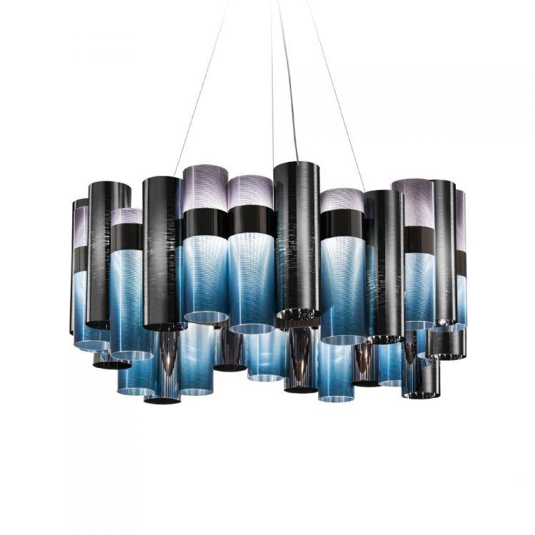 La Lollo lampa wisząca 56W LED 2700K 230V gradient