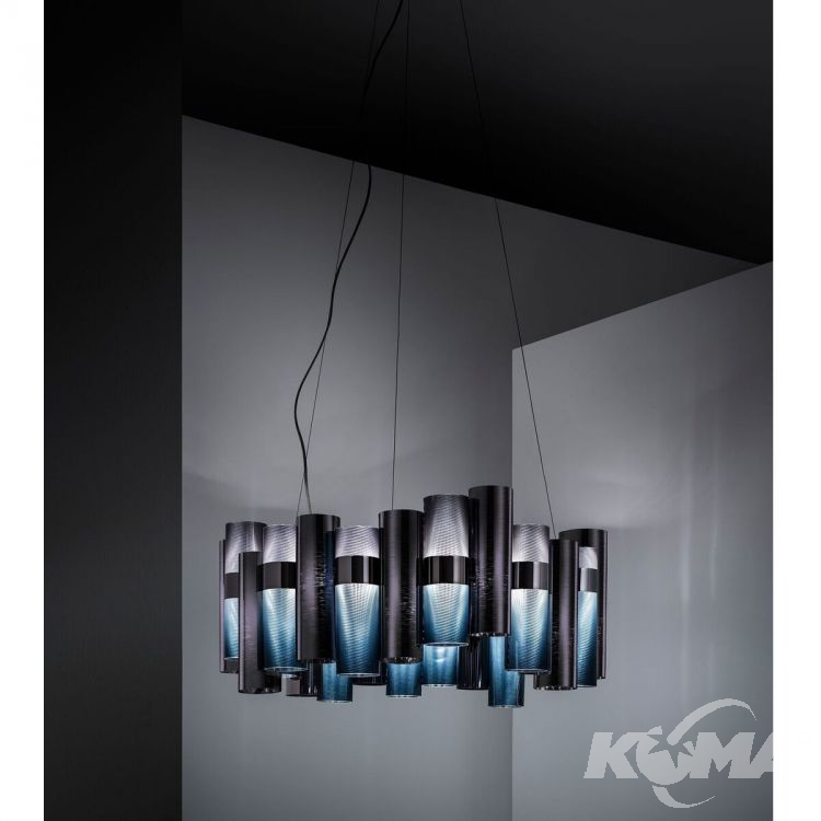 La Lollo lampa wisząca 80W LED 2700K 230V gradient