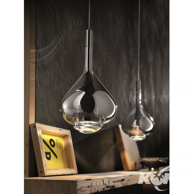 Sky-Fall lampa wisząca 36cm. 2x10W LED 230V chrom