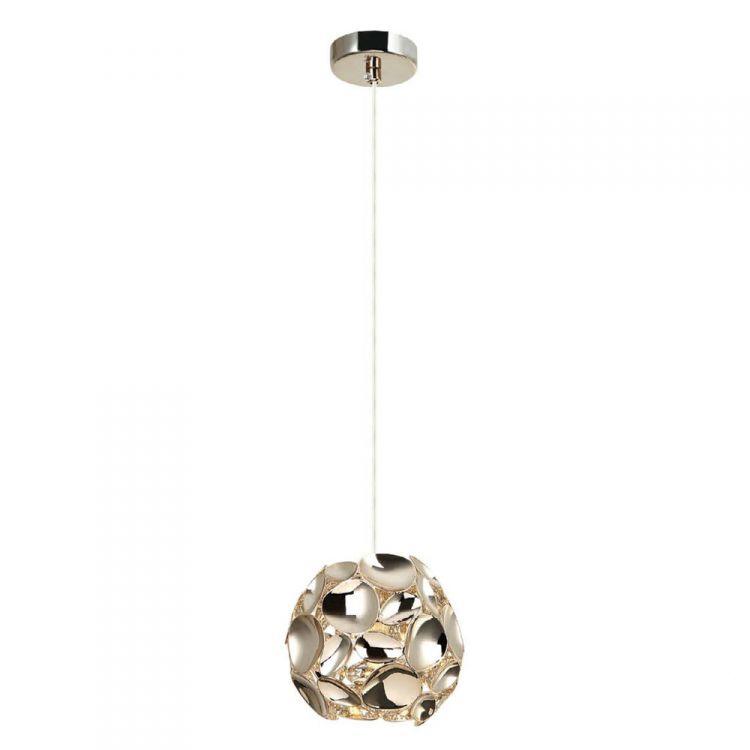 Carera S lampa wisząca 1x7W G9 230V złota