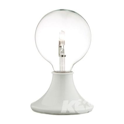 Touch lampka stołowa 1x60W E27 biały