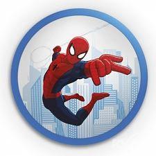 Spiderman plafon scienny led DISNEY PHILIPS