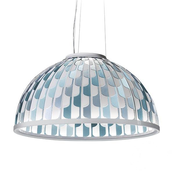 Dome Large lampa wisząca 55W LED 2700K 230V niebieska