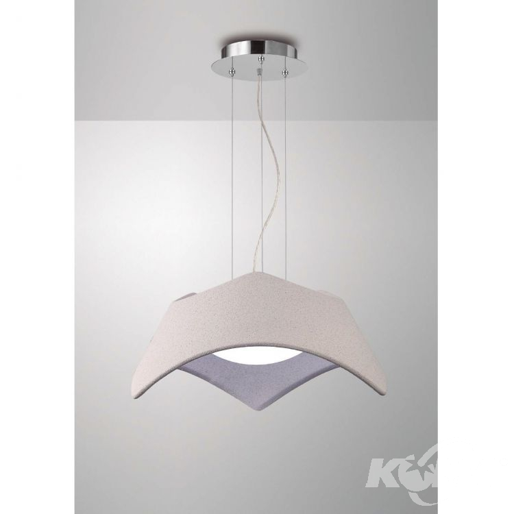 Maui lampa wisząca 3x20W E27 230V cement