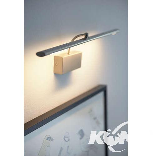Mahogany kinkiet 1x10W LED 230V matowy chrom