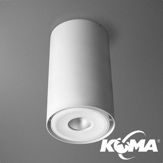 Tuba oprawa sufitowa 8W LED 230V biała