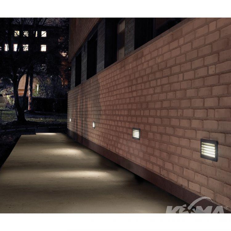 Grimstad lampa wpuszczana zewnętrzna 9,2W LED 3000K 230V grafit