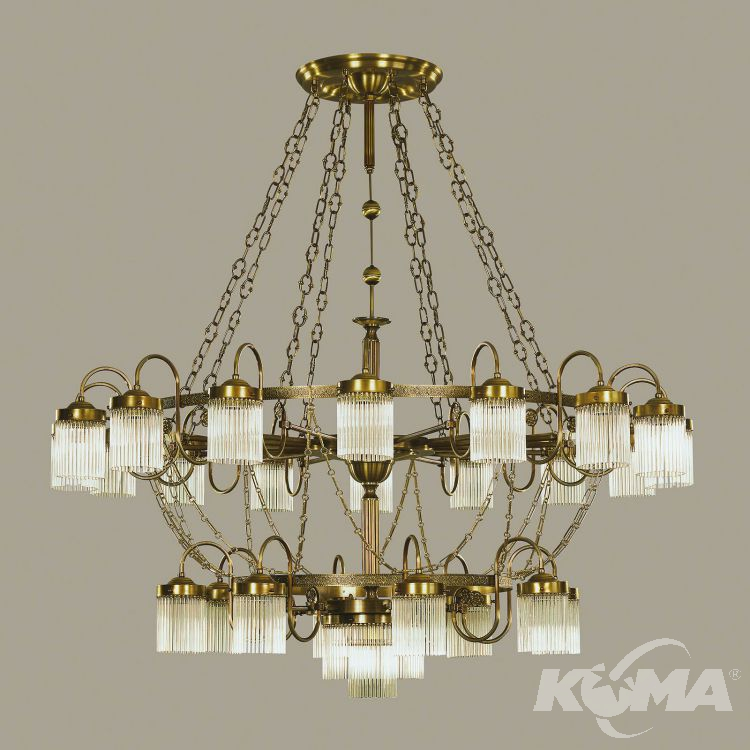 żyrandol lampa wisząca Stäbchenserie ORION