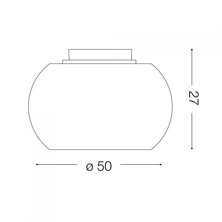 Audi-61 plafon 8x40W G9 230V chrom