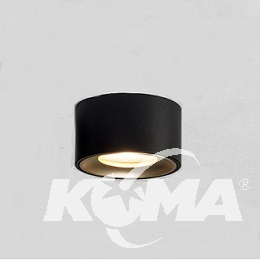 Beep On lampa sufitowa łazienkowa 6W LED 3000K 230V aluminium