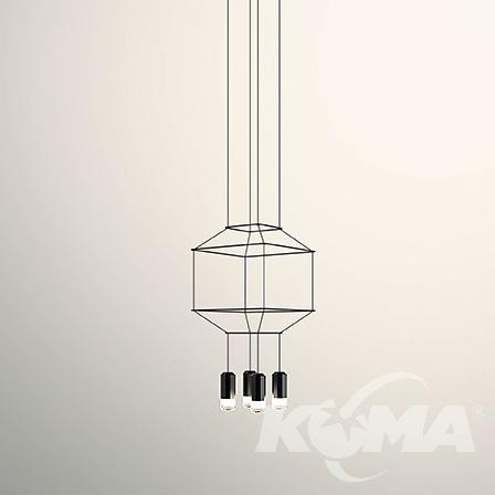 wisząca wireflow LED Lampa VIBIA