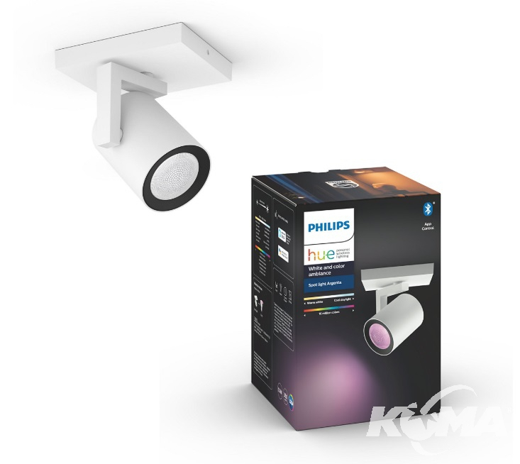 hue reflektor argenta GU10 led Philips LIRIO