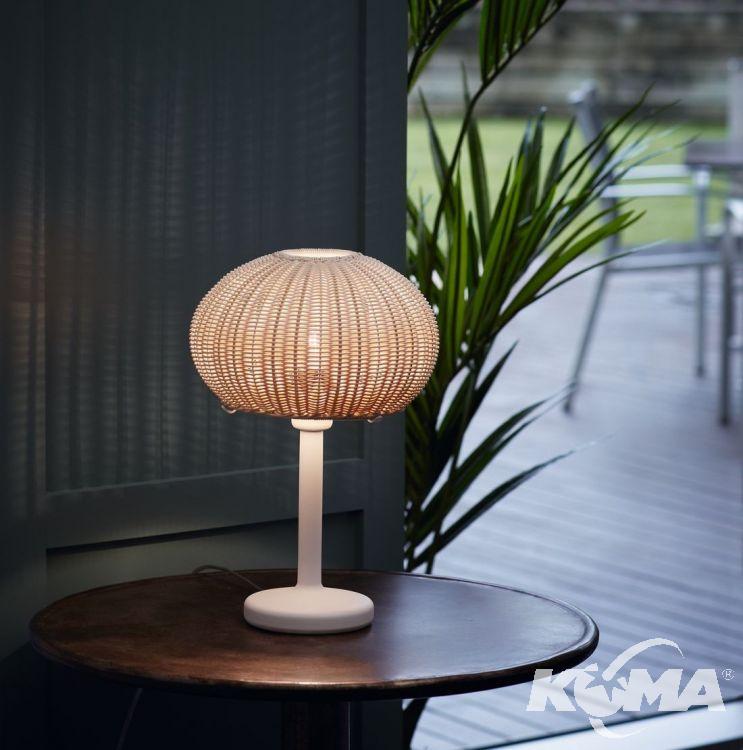 lampa stołowa zewnętrzna brązowa Garota BOVER