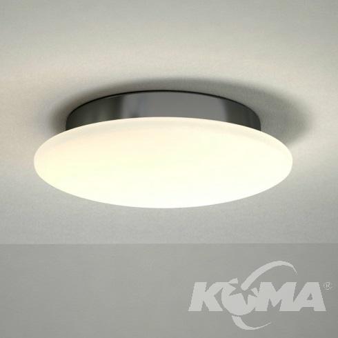 Eos M plafon łazienkowy 6W LED 3000K 230V biały/chrom