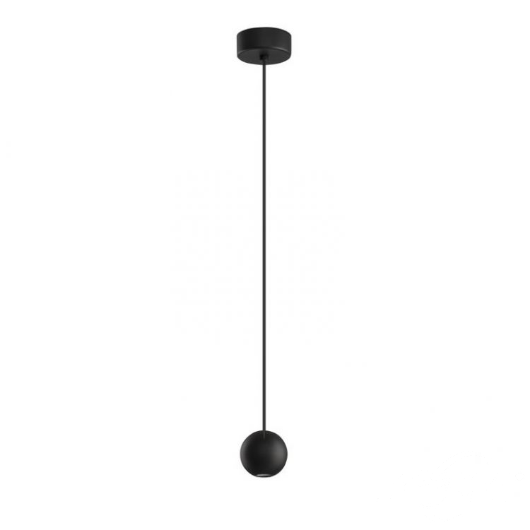 lampa wisząca czarna Nocci