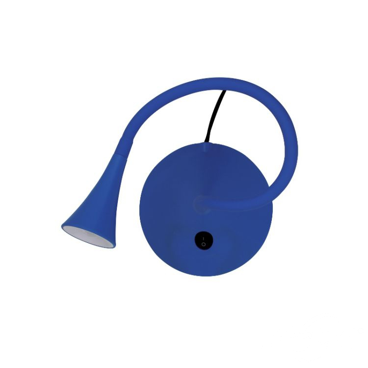 Happy lampa biurkowa 2.4W LED 4000K 230V niebieska