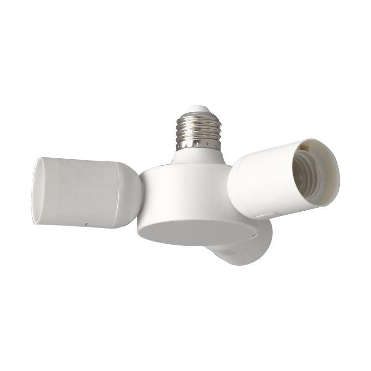 adapter biały E27 Rueda EGLO