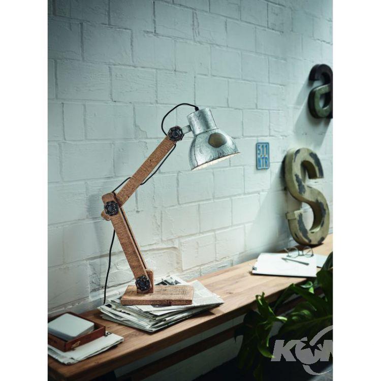 lampa biurkowa Zinkfrizington EGLO