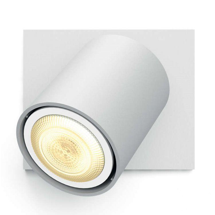Runner Hue reflektor 1x50W GU10 230V biały + ściemniacz