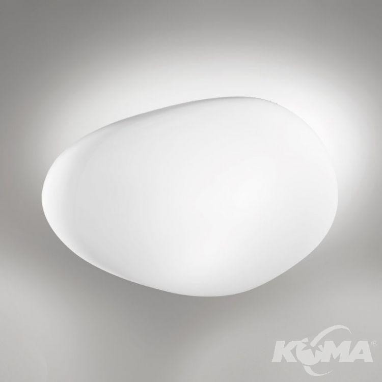Neochic plafon 2x77W E27 230V biały