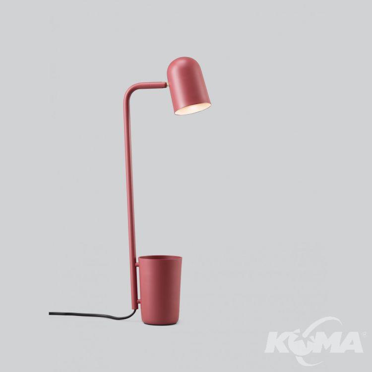 Buddy lampa stołowa 1x9W GU10 230V czerwona