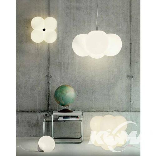Aris lampa podłogowa 8x10W E27 230V biała