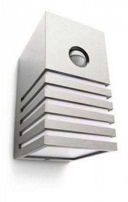 Veranda kinkiet zewnetrzny Z czujka E27/20W aluminium