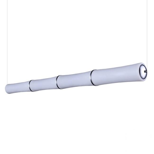 Bamboo lampa wisząca 96W LED 3000K biała (ściemnialna)