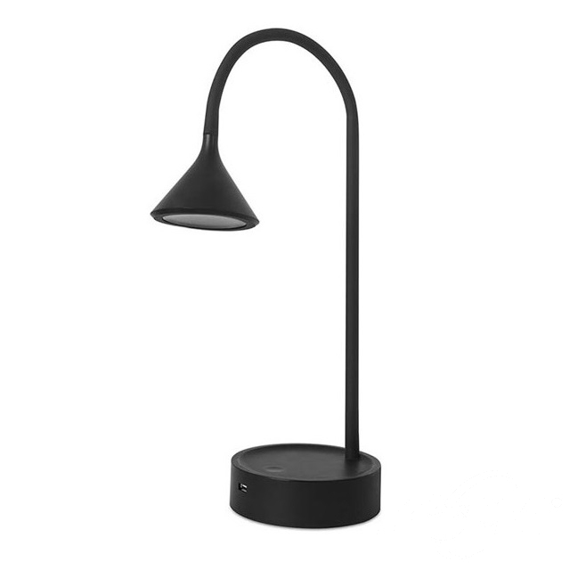 Ding lampa stołowa 4,8W LED 3000K 230V czarna
